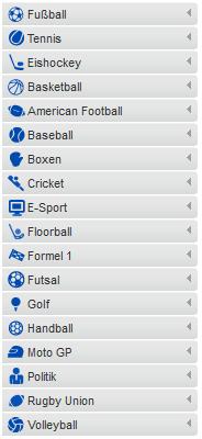 Sportwettenanbieter Mybet Wettanbgebot