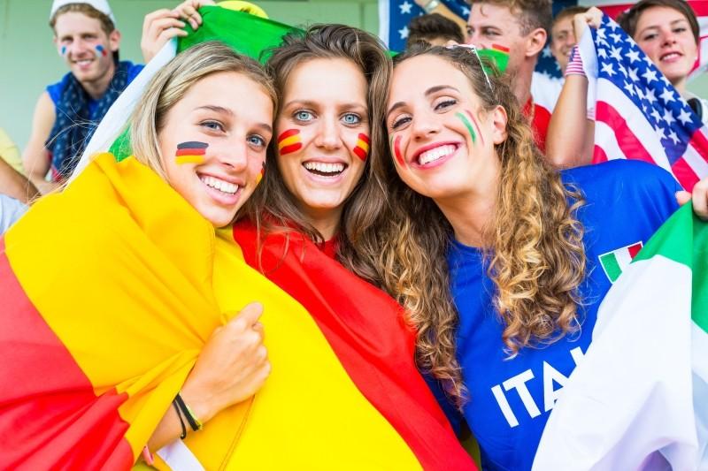 Em 2016 Spanien, Italien, Deutschland