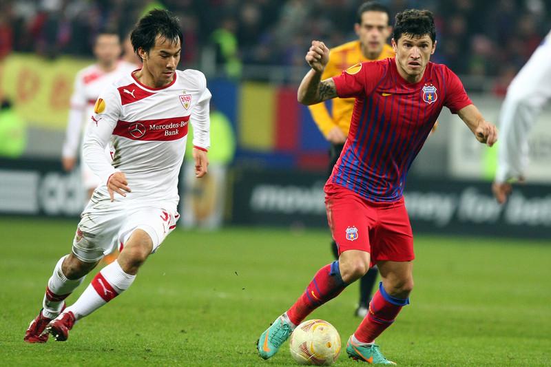 Shinji Okazaki kickte lange in der Bundesliga, unter anderem für den VfB Stuttgart.