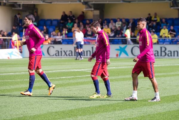 Suarez, Messi und Neymar