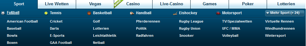 William Hill Wettangebot