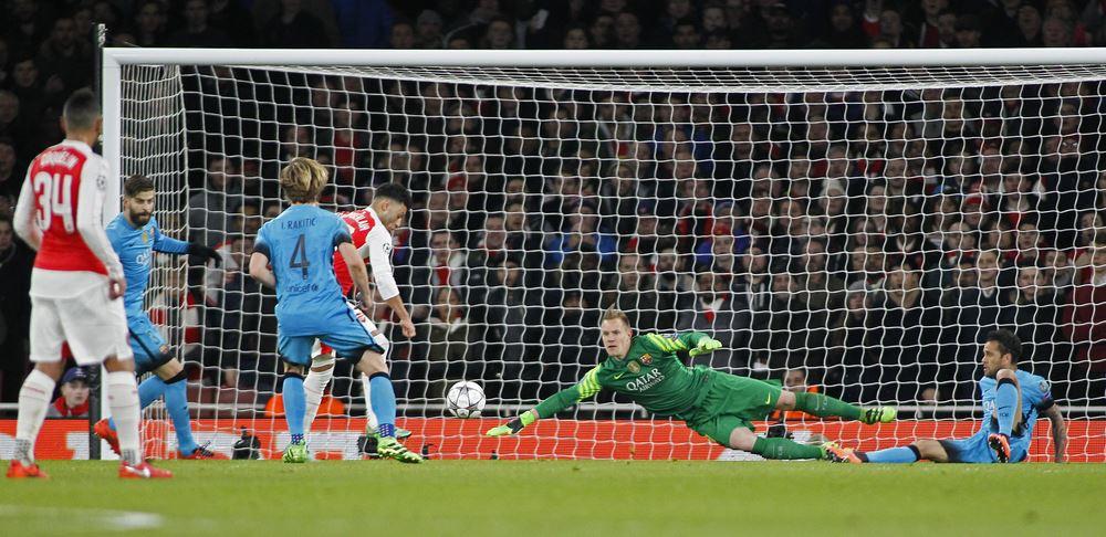 Arsenal gegen Atletico